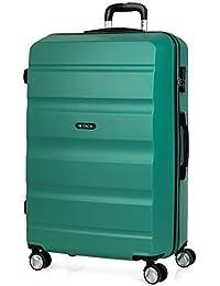 ITACA - Maletas de Viaje Trolley ABS. Rígidas, Resistentes y Ligeras. Mango, Asas y 4 Ruedas. Candado Integrado. Pequeña Cabina…
