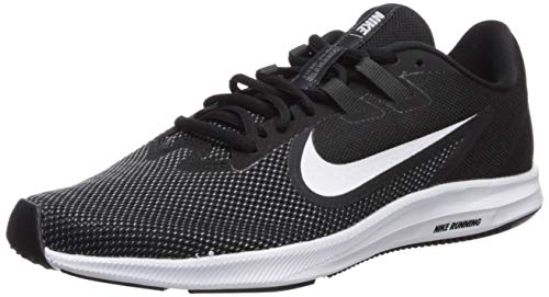 Nike Damen WMNS Downshifter 9 Laufschuhe, Schwarz (Black/White-Anthracite-Cool Grey 001), 38.5 EU