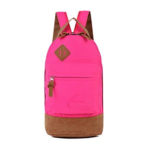 BULAGE Pack Brustbeutel Schultasche Handtaschen Reisen Mannbeutel Schultern Mode Nähen Erholung Rucksack Persönlichkeit Draußen Großzügig Pink