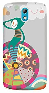 TrilMil Printed Designer Mobile Case Back Cover For HTC DESIRE 526 / 526G PLUS