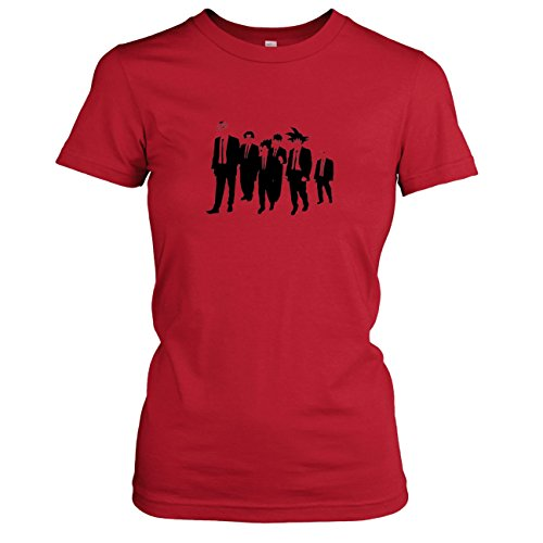 TEXLAB - DBZ: Dogs - Damen T-Shirt Rot