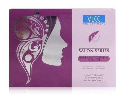 Preisvergleich Produktbild VLCC Naturwissenschaften Silber Detoxifying Facial Kit Saloon Series