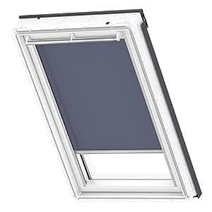 velux 9050 rollo mit haken f r dachfenster dunkelblau gvt 103 k che haushalt. Black Bedroom Furniture Sets. Home Design Ideas