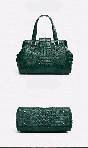 lpkone-Motif Crocodile polyvalent sac sacs à main mode de luxe chers Velcro sac sac motif crocodile Green