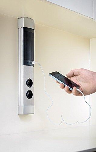 Naber muzak columna/enchufe altavoz con bluetooth® & USB