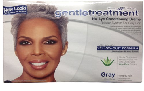 Gentle Treatment Relaxer For Grey No-Lye Kit -