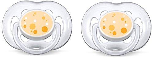 Preisvergleich Produktbild Philips Avent SCF180/54 Beruhigungssauger, 2 Stück, organge