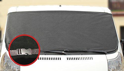 L&P Scheibenabdeckung Frostabdeckung Frontscheibe Abdeckung Winterschutz für Windschutzscheibe MIT KLICKVERSCHLUSS-NEUHEIT (A172 Maße 157cm x 88cm oder A172XXL 180cm x 100cm) (Maße 180cm x 100cm)