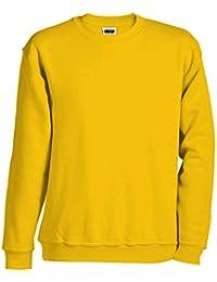 JN040 Round sweat heavy sweatshirt crewneck pullover oversise