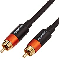 AmazonBasics - Digitales Audiokabel / Koaxialkabel, 1,2 m