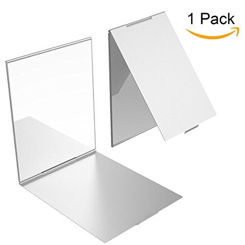 YoungRich Travel Kleiner Spiegel Portable Klappspiegel Tasche Kosmetikspiegel Kompaktspiegel für...