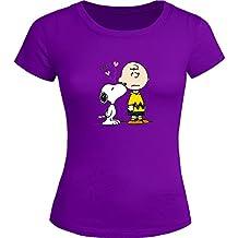 f3f24d657 Snoopy Tops T Shirts - Camiseta - para Mujer