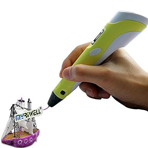 OBEST NIU 3D Printing Pen 160-235℃ for 3D Arts &