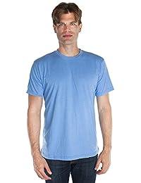 Unisex Tee Heather T-shirt Blend 50/50 Crew Neck