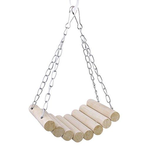 Hamster Hängebrücke Schaukel Halsband Maus Papageien Vogel Katze Spielzeug