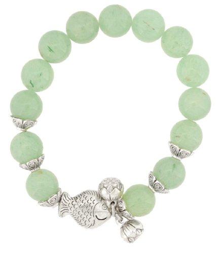 vert-clair-poisson-bracelet-lucky-poisson-bracelet-breloques
