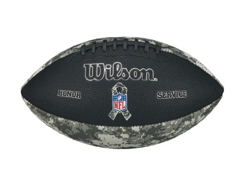 Wilson Sporting Goods Junior NFL Salute to Service Football, Camouflage