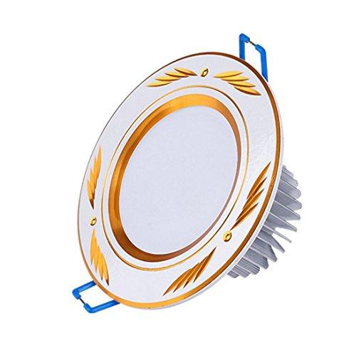 Chandelier Downlight Führte Kreative Loch Lampe Wohnzimmer Schlafzimmer 7.5 Loch Flur 3W Deckeneinbau Deckenleuchte Drei-Farben-Licht - Deckeneinbau-downlight