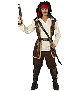 WIDMANN wdm15263?Disfraz pirata, rojo, Large