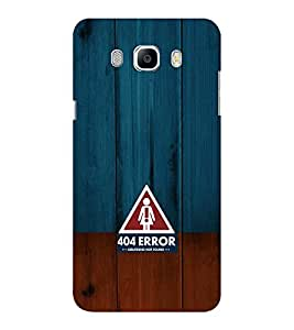 EPICCASE 404 Error Girlfriend not found Mobile Back Case Cover For Samsung J5 2016 (Designer Case)
