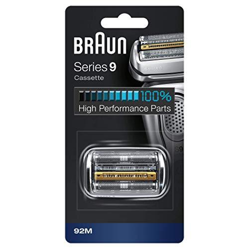 Braun Series 9 92M Scherkopfkassette für Series 9 Rasierer, silber