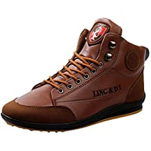 Botas de Senderismo para Hombre,Zapatos De Senderismo Antideslizantes para Hombre Zapatos para Caminar Al