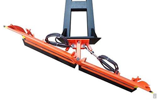 Gabelstapler Vario Schneeschild V 150 cm hydraulisch Schneeschieber Winterdienst
