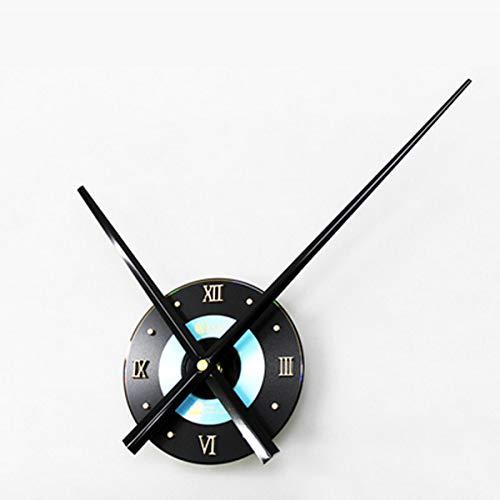 Mute Wall Clock + Minute/Hour Hand Kit Creative Home Decor - 1 ()