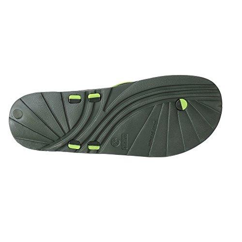WILLIAM&KATE Mode Reflexologie Sandales Pour Hommes Pied Massage Santé Tongs Sandales Pantoufless Vert