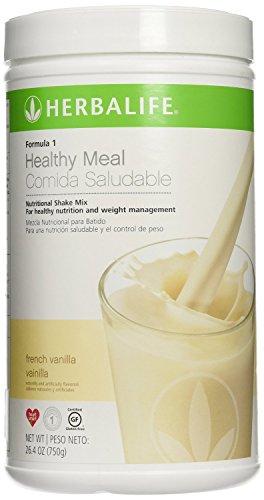 Vanilla nutrition shake mix. Gesunde Nahrung für Gewichtsverlust ()