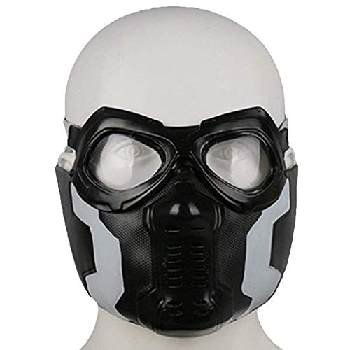 Captain America 3 Cosplay Halloween Karneval Winter Soldat Maske Maske Winter Warrior Halloween Dress Up Maske (Der Winter Soldat Kostüm)