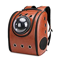 Runrain Astronaut Capsule Breathable Pet Cat Puppy Travel Bag Space Backpack Carrier Bags