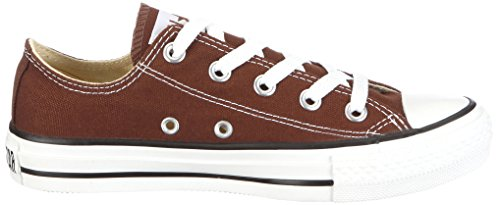 Converse Chck Taylor All Star Ox, Baskets Basses Femme Chocolat