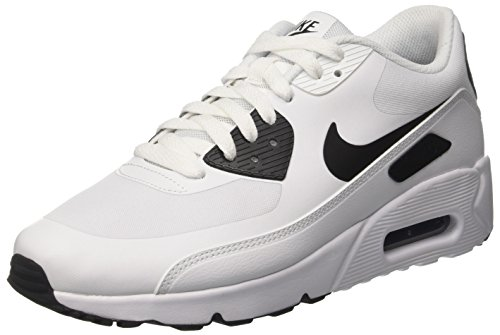 Nike Air Max 90 Ultra 2.0 Essential, Chaussures de Running Homme Multicolore (White/black/black)