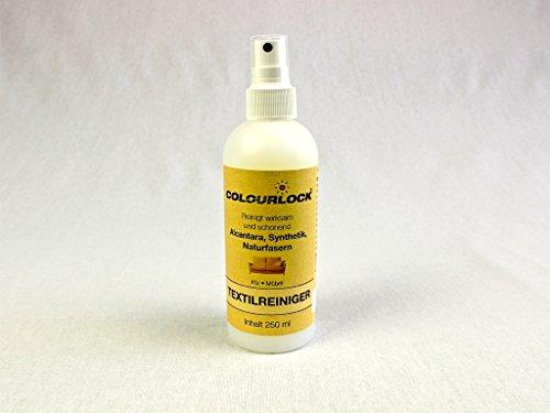 Alcantara & Textil Reiniger 250 ml, gut für Textilreinigung, Alcantara reinigen, Mikrofaser, Polsterreiniger