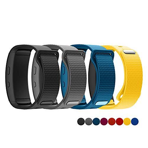 TOPsic Ricambio per Cinturino Gear Fit 2/Gear Fit 2 PRO Braccialetto, Cinturino di Ricambio in Silicone Braccialetto Cinturino per...