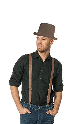 Steampunk Outfit Zubehör Set Kostüm (Steampunk Männer Outfits Für)