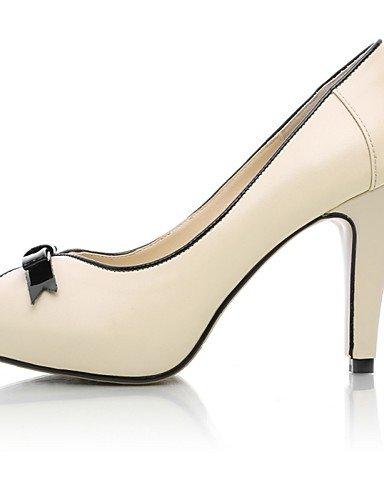 WSS 2016 Chaussures Femme-Mariage / Habillé / Soirée & Evénement-Noir / Rose / Amande-Talon Aiguille-Talons / Bout Ouvert / A Plateau-Talons-Poils pink-us5.5 / eu36 / uk3.5 / cn35