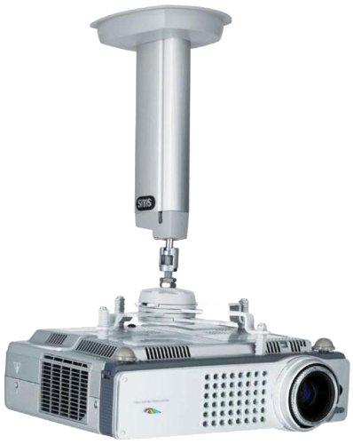 SMS AE014027 Projectorhalterung, Metall, silber, 11,7 x 9,4 x 57,5 cm (Entertainment-möbel Tv-ständer)