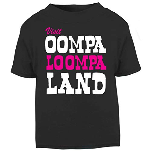 Charlie and The Chocolate Factory Oompa Loompa Land Baby and Toddler Short Sleeve T-Shirt Oompa Loompa-shirts