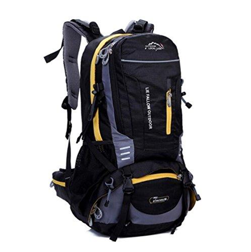Wmshpeds 40L moda tempo libero borse sportive di uomini e donne outdoor alpinismo backpacking viaggi borsa a tracolla B