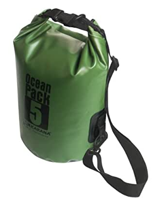Karana Ocean Dry Pack Day Waterproof Travel Kayak Bag 5 Litre 5L Green
