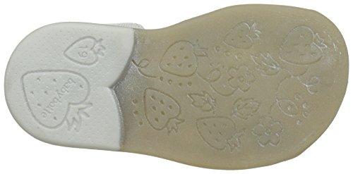 Babybotte Tikalou, Sandales Bout Fermé Fille Blanc (Blanc Multi)