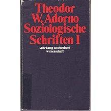 Soziologische Schriften, 1