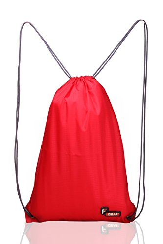 F Gear String 11 Ltrs Nylon Red Gym Bag  available at amazon for Rs.199