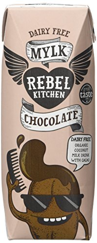 Rebel Kitchen Dairy Free Organic Chocolate Mylk 250 ml (Pack of 12)