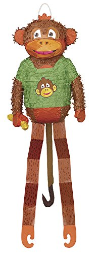 Affen-Piñata (Gefüllte Dschungel Tiere)