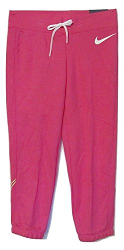Nike Women's Club French Terry Capri 684838 Pink Nike Lady-clubs