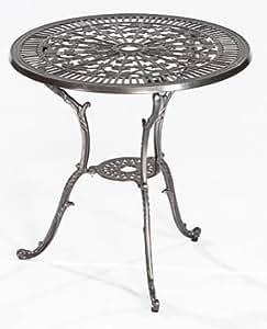 gartentisch lugano aus aluminiumguss graphit wetterfefst. Black Bedroom Furniture Sets. Home Design Ideas