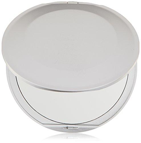 Swissco Round Compact Mirror 102 mm 1X/5X Extra Flat [Misc.] (Bad- & Kosmetikspiegel) -